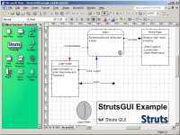 StrutsGUI Screenshot